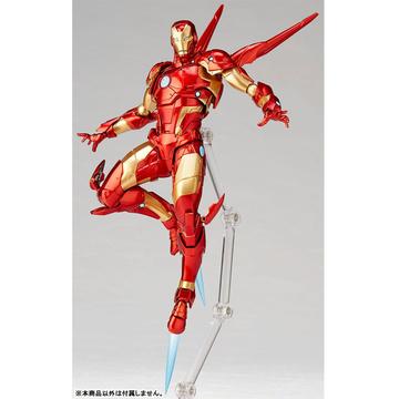 Anime Kaiyodo No013 Amazing Yamaguchi Iron Man Bleeding Edge Armor Figure No Box