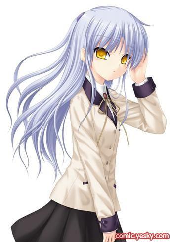 Персонажи аниме с желтыми волосами