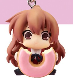 главная фотография Chara-Ani Toradora! Toys Works Strap Collection: Aisaka Taiga Donut version