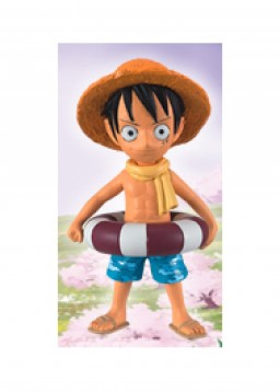 главная фотография One Piece World Collectable Figure ~Strong World~ ver.5: Monkey D. Luffy