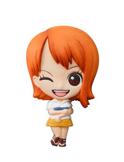 главная фотография One Piece Mascot Relief Magnet: Nami