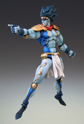 главная фотография Super Action Statue Star Platinum Second