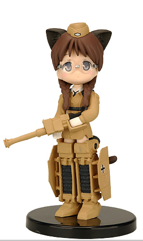 главная фотография Figumate Mecha Musume 1: Panzer 3 Assault Gun Armored Infantry G Type