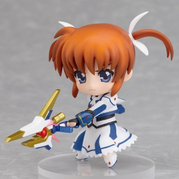 главная фотография Nendoroid Petite: Mahou Shoujo Lyrical Nanoha The MOVIE 1st: Nanoha Takamachi (Barrier Jacket ver.)