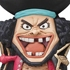 One Piece Mascot Relief Magnet: Marshall D. Teach