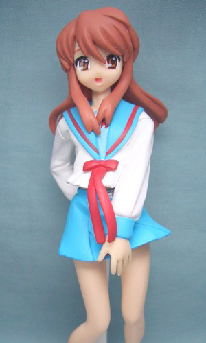 главная фотография HGIF The Melancholy of Haruhi Suzumiya #3: Mikuru Asahina School Uniform Ver