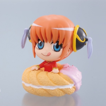 главная фотография Gintama Petit Chara Land -Gin-san's Doughnuts Shop: Kagura Strawberry ver.