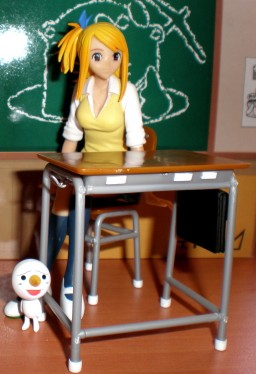 главная фотография Sunday x Magazine Figure Lucy Heartfilia