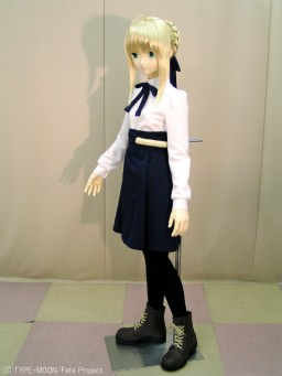 главная фотография Mannequin doll: Saber School uniform ver. (Posable ver.)