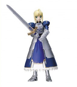 главная фотография Fate/stay night Figure Collection: Saber Excalibur Version