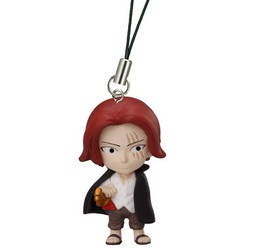 главная фотография One Piece Road of Ace Rescue Straps: Red-Haired Shanks