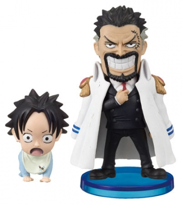 главная фотография One Piece World Collectable Figure Vol.0: Monkey D. Garp & Portgas D. Ace
