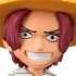 One Piece World Collectable Figure Vol. 0: Shanks