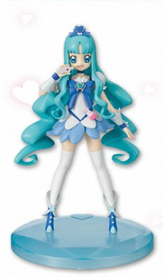 главная фотография Heartcatch Pretty Cure DX Girls Figure: Cure Marine