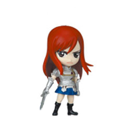 главная фотография Fairy Tail Deformed Mini Figure: Erza Scarlet