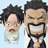 One Piece World Collectable Figure Vol.0: Monkey D. Garp & Portgas D. Ace