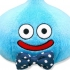 Dragon Quest 25th anniversary: Smile Slime Plush Navy bow tie Ver.