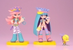 фотография Twin Pack+ : Panty & Stocking with Chuck + galaxxxy: Panty