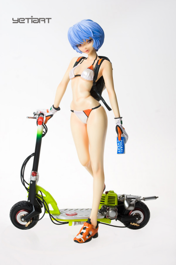 главная фотография Rei Ayanami with Electric Scooter