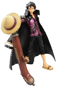 главная фотография P.O.P Strong Edition Monkey D. Luffy LAWSON Limited Color