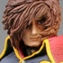 Super Figure Legend Adieu Galaxy Express 999: Captain Harlock