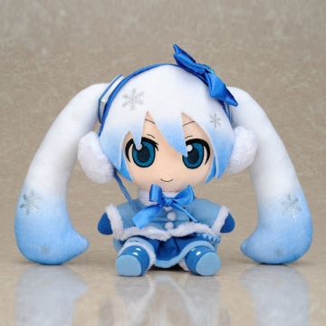 главная фотография Plush Strap Series: Snow Miku FuwaFuwa Coat Ver.