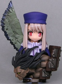 главная фотография Fate/stay night Bust Collection: Illyasviel von Einzbern and Berserker Comptiq extra Ver.