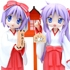 Dream Tech Hiiragi Kagami & Hiiragi Tsukasa ~at the new year`s shrine~ Miyazawa Limited ver.