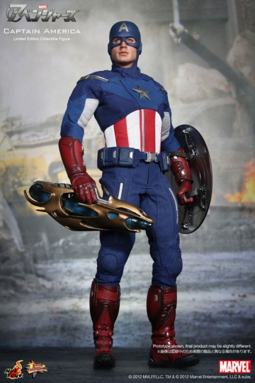 главная фотография Movie Masterpiece Captain America Avengers Ver.