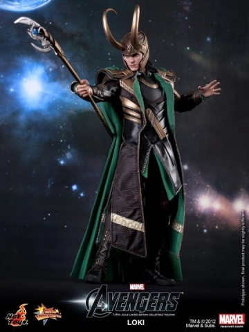 главная фотография Movie Masterpiece Loki The Avengers Ver.
