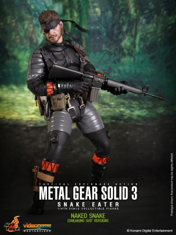 главная фотография Video Game Masterpiece Naked Snake Sneaking Suit Edition Ver.