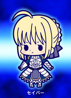 главная фотография Fate/Zero Rubber Strap Collection Chapter 1: Saber