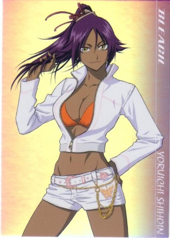 Yoruichi - блич аниме иконка
