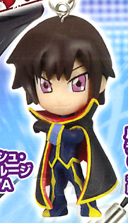 главная фотография Code Geass Swing Strap Figures: Lelouch Lamperouge