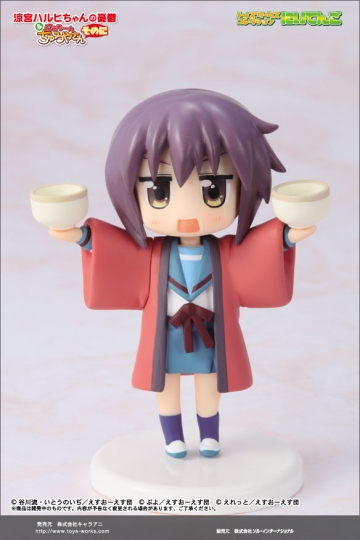 главная фотография Toys Works Collection 2.5 Suzumiya Haruhi-chan & Nyoron Churuya-san 2nd: Nagato Yuki