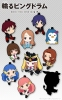 фотография Petanko Mawaru Penguindrum Trading Rubber Strap: Princess of the Crystal