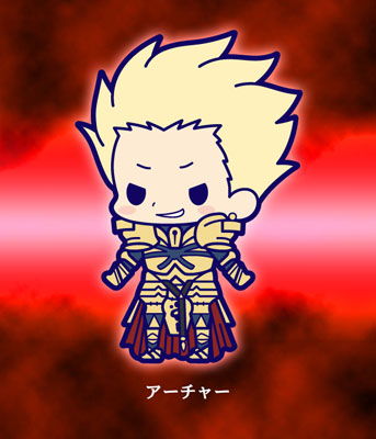 главная фотография Fate/Zero Rubber Strap Collection Chapter 2: Gilgamesh