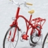 ex:ride: ride.002 - Classic Bicycle: Metallic Red