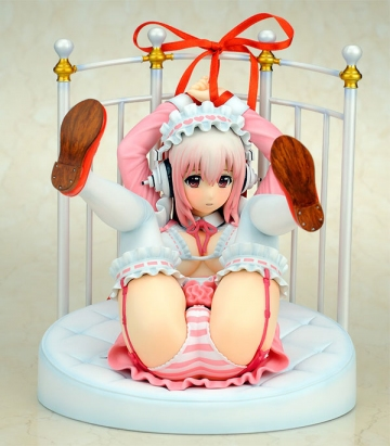 главная фотография Super Sonico Lolita Maid ver. + Bed Base Set