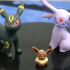 Dialga Edition: Eevee, Espeon, Umbreon