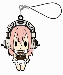 главная фотография Super Sonico Rubber Strap Collection: Sonico Apron ver.