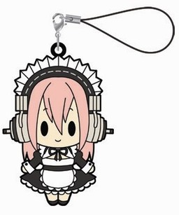главная фотография Super Sonico Rubber Strap Collection: Sonico Maid ver.