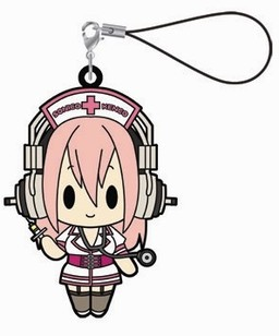 главная фотография Super Sonico Rubber Strap Collection: Sonico Nurse ver.