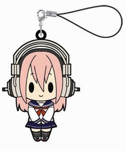 главная фотография Super Sonico Rubber Strap Collection: Sonico School Uniform ver.