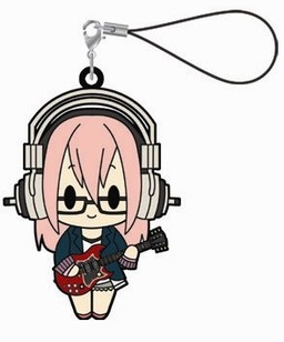 главная фотография Super Sonico Rubber Strap Collection: Sonico Dai-ichi Uchuu Sokudo ver.