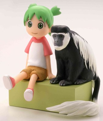 главная фотография Capsule Q Fraulein Yotsuba & Monochrome Animals vol.1: Yotsuba & Abyssinian Black and White Colo