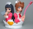 фотография HG Card Captor Sakura part 1: Kinomoto Sakura and Daidouji Tomoyo