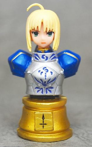 главная фотография Fate/Zero Chess Piece Collection: Saber Colored Ver.