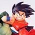 Neo Capsule Corp Diorama Goku in Battle