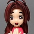 Love Hina Limited Edition DVD Promo Figures: Mutsumi Otohime